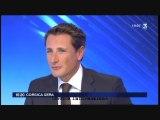Interview Fr3 Corse : Angelini Jean Christophe, Membre du PNC, élu Femu A Corsica