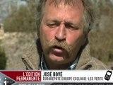 OGM : José Bové en appelle au gouvernement