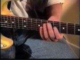 Extrait de Solos de blues à la guitare