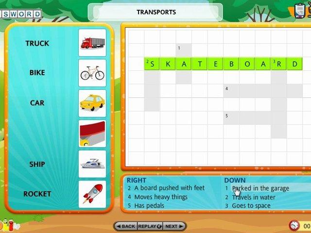 Vocabulary Games | Crossword Games | Vocabulary Building Games | Crossword Puzzle | Vocabulary Word Lists