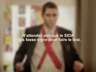 L'Homme à la cravate - Sida Info Service & Janssen