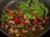 SHRIMP & ROASTED RED CHILI PASTE STIR FRY