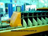 Silkelemeli Filtre Pres Filter Press with Automatic Plate Shaking Mechanism