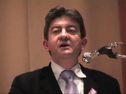 Mélenchon au Meeting du referendum à Clermont-Ferrand le 19 Mai 2005