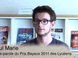 Prix Bayeux-Calvados des Correspondants de Guerre - Prix Varenne 2011 des lycéens