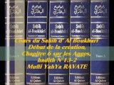 72. Cours du Sahih d' Al Boukhari Début de la création chapitre 6 sur les Anges, hadith N°13-2