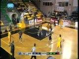 Maroussi BC vs PAOK Thessaloniki 69-71 Gagaloudis 10 yellow Kommatos 15 yellow Xaritopoulos 9 yellow Dikoudis 9 black season 2011-2012  2 part