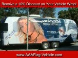 Wrap Your Car with Ads – Call AAA Flag and Banner