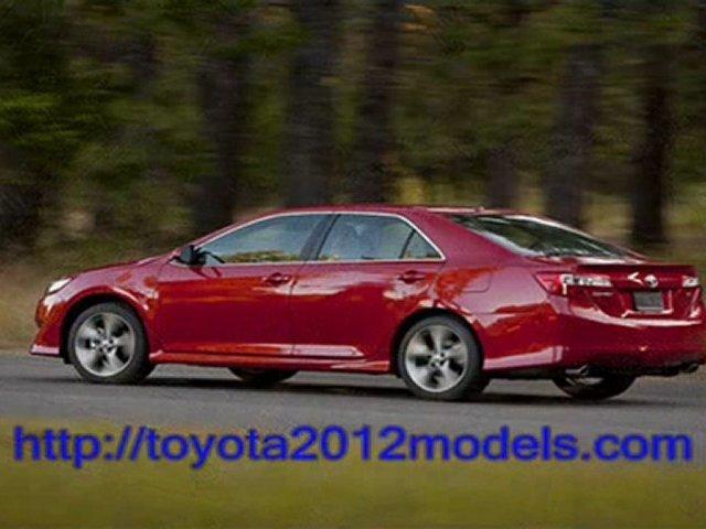 Toyota 2012 Models – Toyota Camry 2012