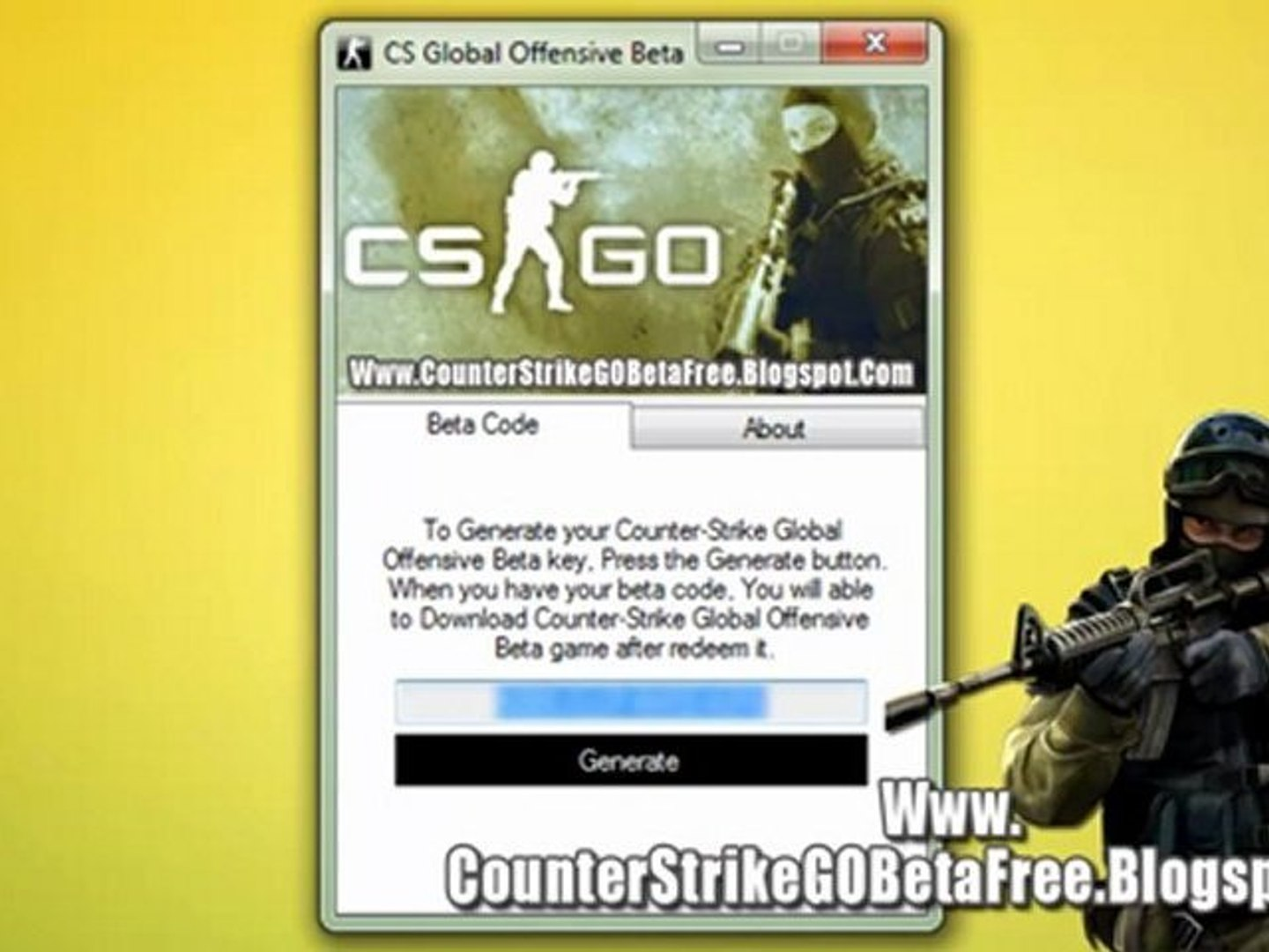 Counter Strike Global Offensive Beta Code Generator Free Download On Pc