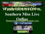 Watch HOUSTON SOUTHERN MISS Online | SOUTHERN MISS vs. HOUSTON Football Live Streaming