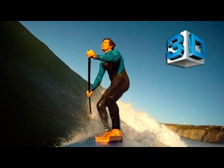 3D PaddleBoard SUP Slowmotion