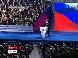 Путин будет строить сильную и богатую Россию