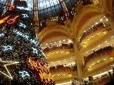 Galeries Lafayette Christmas tree-Paris