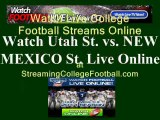 Watch UTAH ST. NEW MEXICO ST. Online | NEW MEXICO ST. vs. UTAH ST. Football Live Streaming