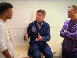 Robbie Williams Marcus Collins X-Factor December 3 2011