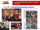 Rapport Activité 2011 Association Otages du Monde Loi 1901