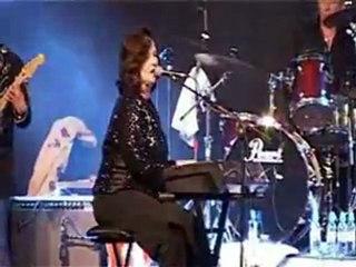 Extrait DVD Linda Gail Lewis live in Paris - Big Beat records