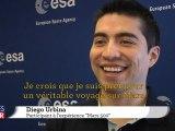 Mars 500: Diego Urbina donne quelques conseils
