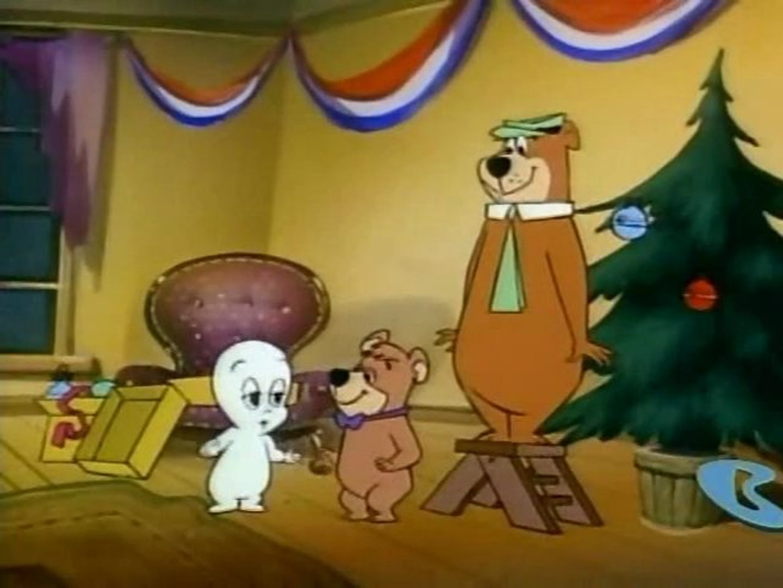 Hanna Barbera Christmas Dvd.Casper S First Christmas