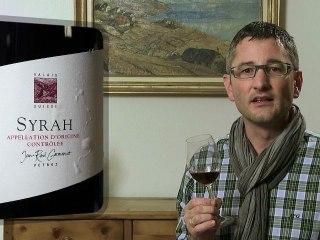 Syrah du Valais 2010 Jean-René Germanier - Wein im Video