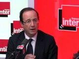 """Crise : Hollande souligne """"l'échec de la politique de Sarkozy"""""""