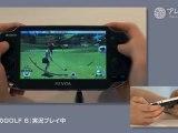 Everybodys Golf 6 PS Vita Gameplay
