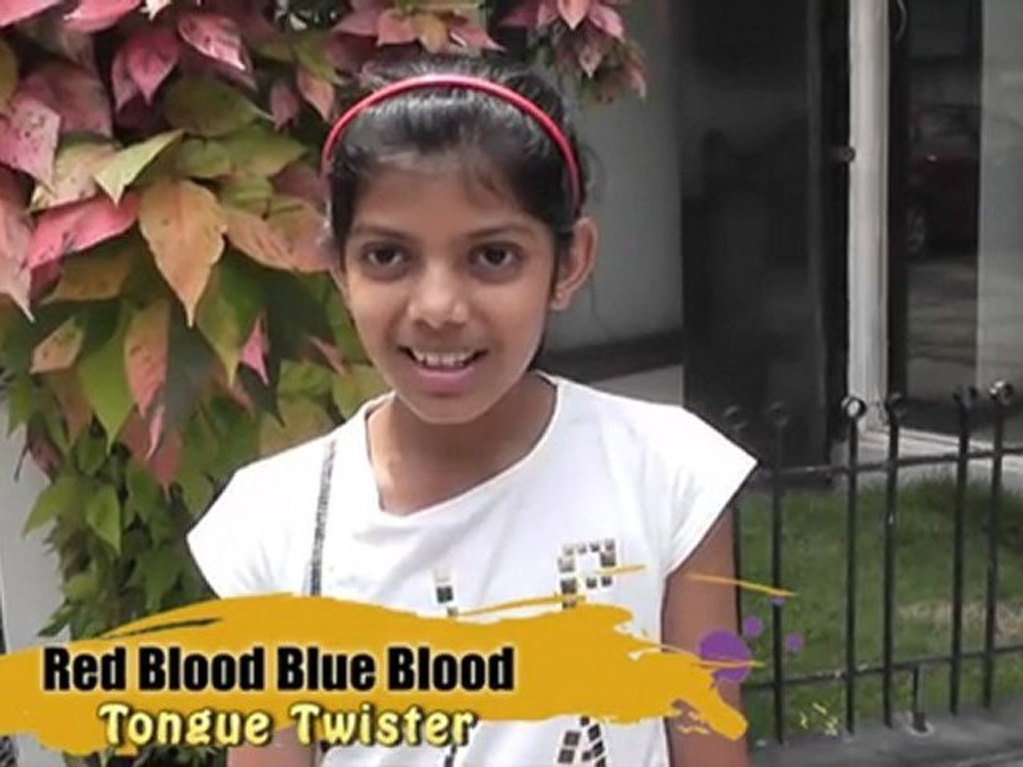 Tongue Twister  - Red Blood Blue Blood