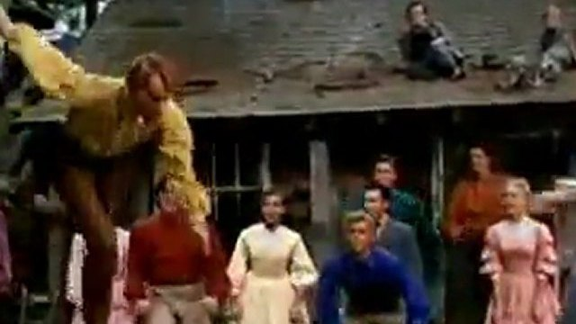 Seven Brides For Seven Brothers- Barn Dance  (1954)