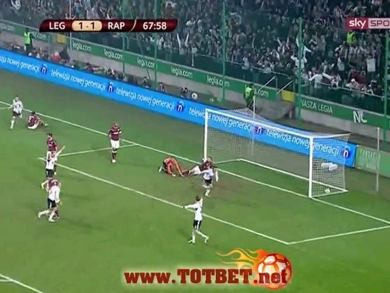 Легия - Рапид Б (3-1) 03.11.2011