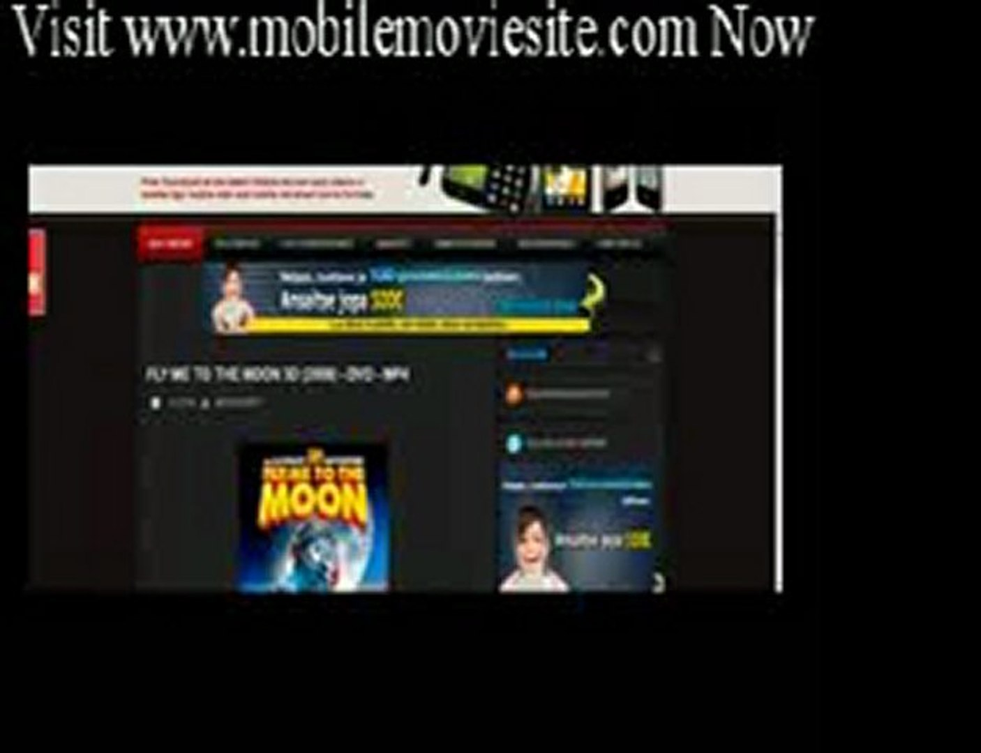 How to download free mobile movies (Avi_ 3gp_ Mp4) -www.mobilemoviesite.com