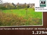 A vendre - terrain - 20 MN NORD OUEST  DE REIMS (02160) - 1