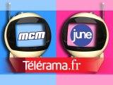 June et MCM, télé rose et télé bleue
