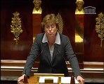 Assemblée Nationale - 7 décembre 2011 - Intervention d'Annick Lepetit sur la mise en place d'une commission d'enquête sur le RER