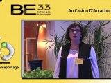 13ème soirée BE33 à Arcachon - Interview Sophie Delorge - Représentante du Medef pour le Bassin d'Arcachon - Reportage CS Développement
