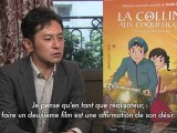 La Colline aux Coquelicots : Interview de Goro Miyazaki