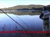 Pêche des Truites à la mouche en réservoir au Lac du Bouchet par Europêche34