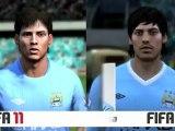 FIFA11 vs  FIFA 12 Player Likeness Comparison