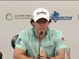 McIlroy downplays Woods link