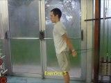 Protocole echauffement avec elastiques natation