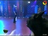 Paula en SM 1 (duelo Gilda baile) - 08 de Diciembre