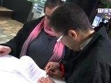 """Signature des conventions """"Jouons ensemble"""" entre le TFC et les clubs de quartiers"""