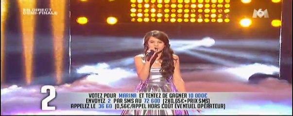 """Marina """" Fireworks """" - La France a un incroyable talent"""