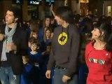TV3 - Divendres - Flashmob per a La Marató al barri d'Horta