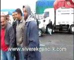Siverek'te Kar Yağışı Siverek- Diyarbakır Karayolunu Kapadı