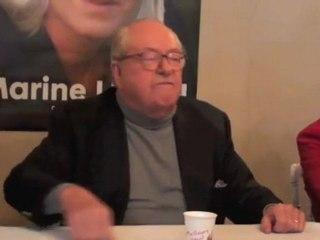 Jean-Marie Le Pen en Essonne - Nicolas Sarozy ne sera pas candidat en 2012
