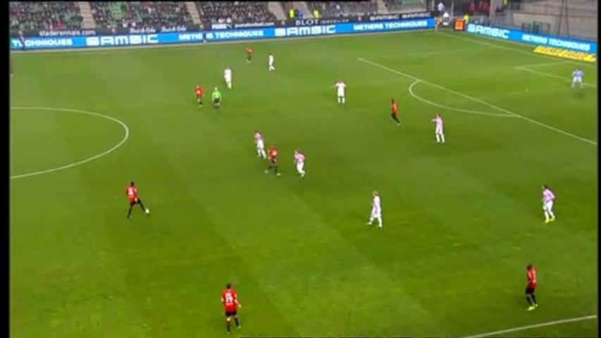 26/11/11 : Julien Féret (10') : Rennes - Evian (3-2)
