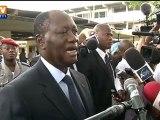 Législatives en Côte d'Ivoire : Alassane Ouattara appelle les Ivoiriens à voter