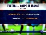 coupe de France de football : Avranches et Cherbourg se qualifient pour les 32èmes