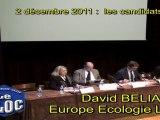 David BELIARD (VERTS)  :  présidentielles et BLOC